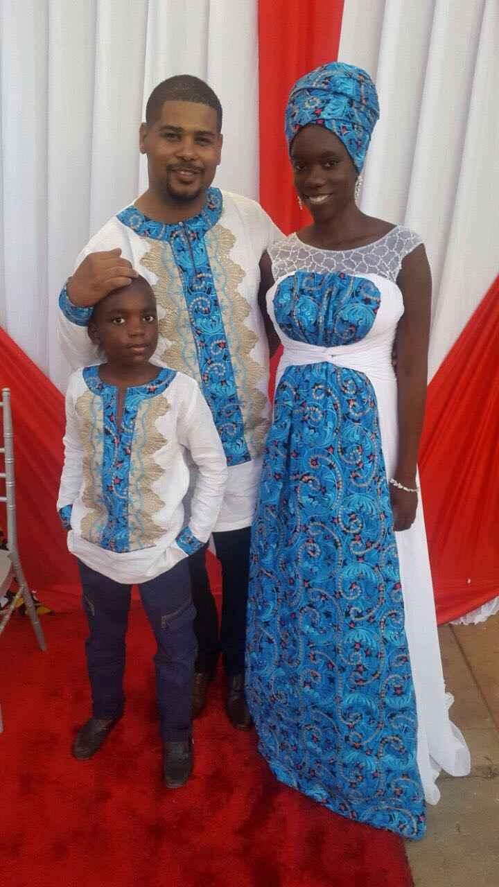 Meu noivado - Tema Africano