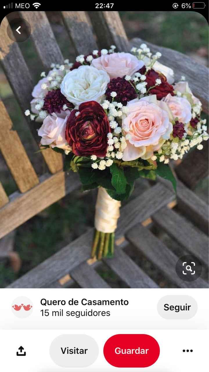 O noivo é que sabe.... o bouquet da noiva - 1