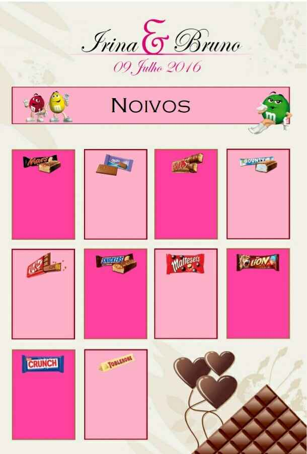 Tema chocolate - 1