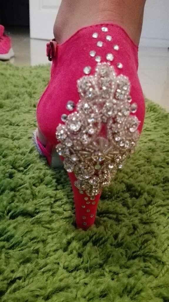 Sapatos rosa fucsia - 2