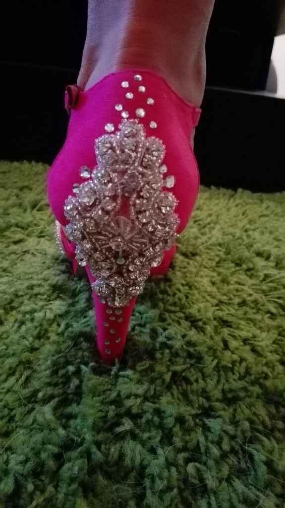 Sapatos rosa fucsia - 5