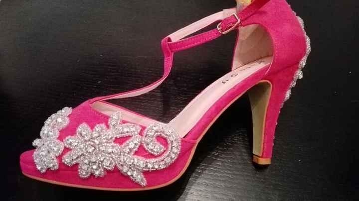 Sapatos rosa fucsia - 8
