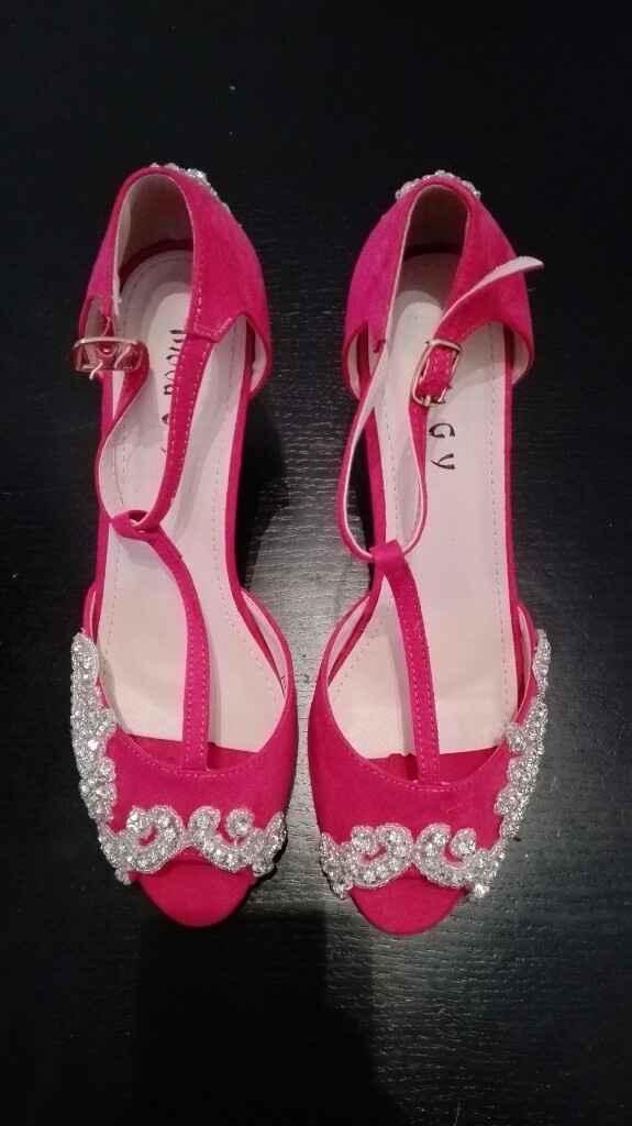 Sapatos rosa fucsia - 9
