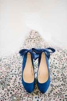 Sapatos azuis III