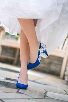 Sapatos azuis IV