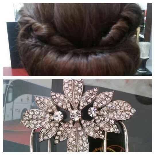 Penteado + peça para cabelo * - 1