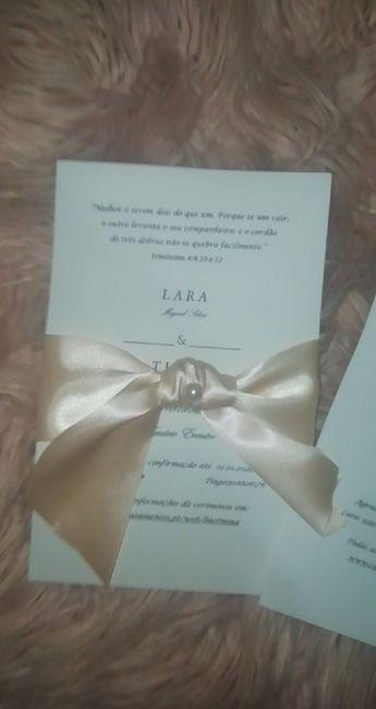 Os Convites 💝 - 3