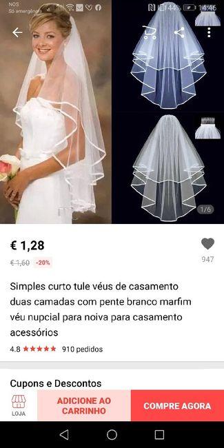Onde comprar o véu 👰🏼 - 2