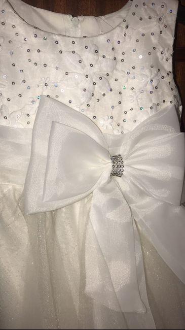 Vestido da menina 👧 - 1