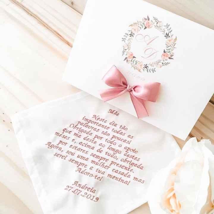 Convite padrinhos de casamento - 1