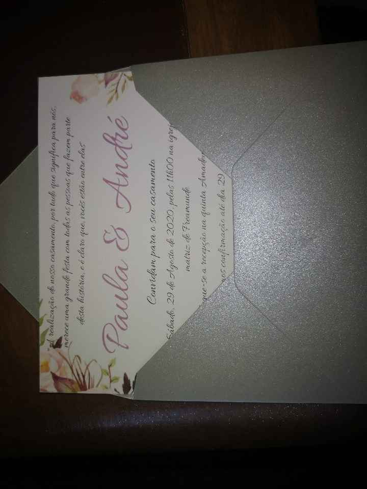 Check convites! - 2