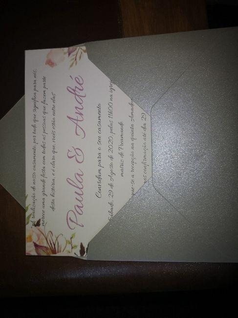 Check convites! 2