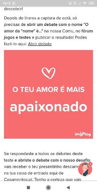 O teu amor é mais.... DESAFIO! 7