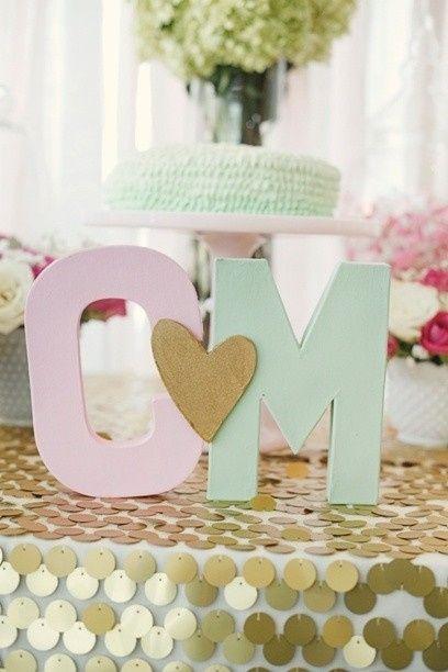 Casamento cores rosa e verde menta for Kitchen ideas rose gold