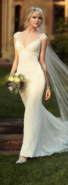 Noiva terna ou sedutora - Vestido