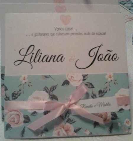 Convite Liliana