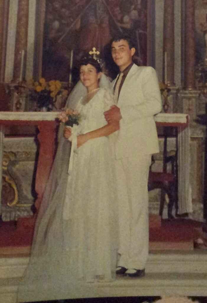 Os meus pais quando casaram - 1