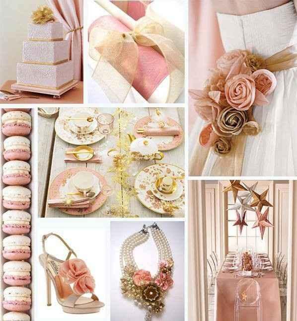Inspirações rosa chá