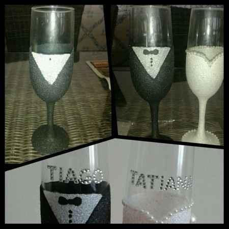 Inspiração para o brinde dos noivos - 3