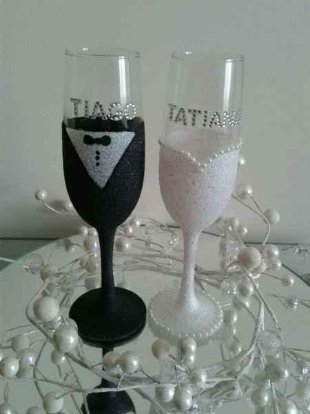 Inspiração para o brinde dos noivos - 4