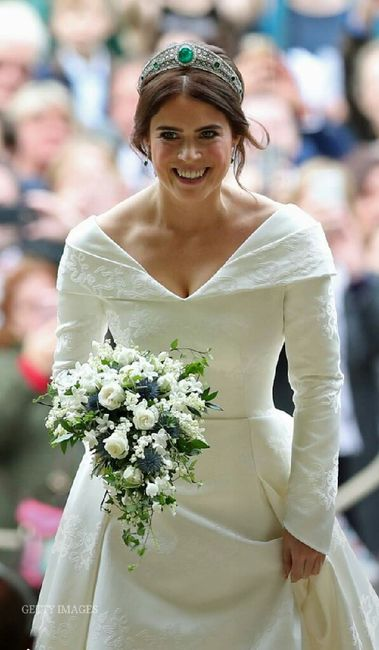 Casamento real Eugenie de Inglaterra 👸💒 1