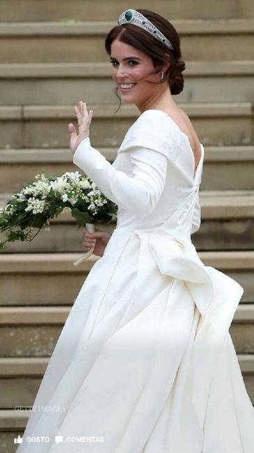 Casamento real Eugenie de Inglaterra 👸💒 2