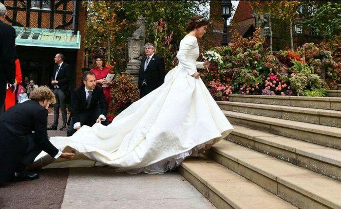 Casamento real Eugenie de Inglaterra 👸💒 3