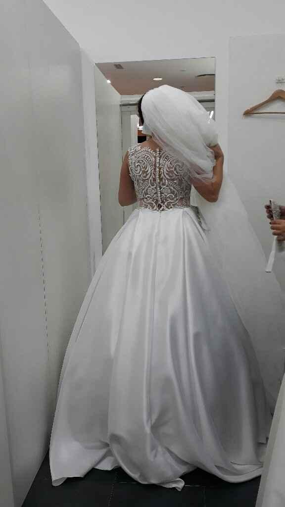 Prova do vestido - 2