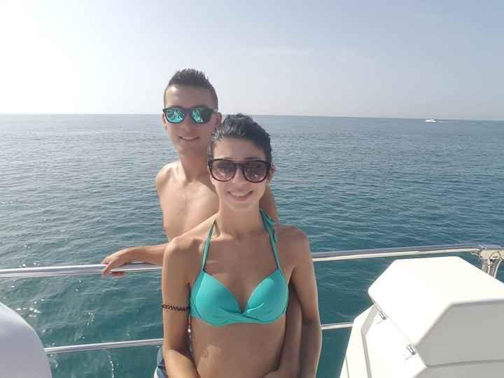 No Barco entre Puerto Banus e Marbella