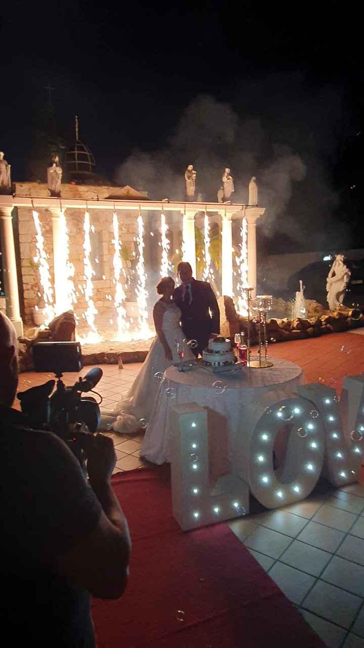 Fogo de artifício no casamento! Sim ou não? - 1