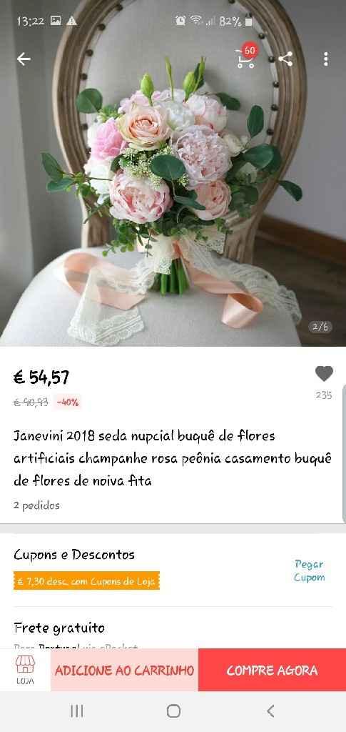 Flores artificiais - 1