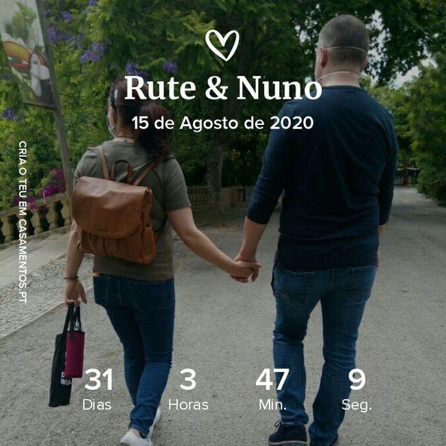 Falta um mês... - 1