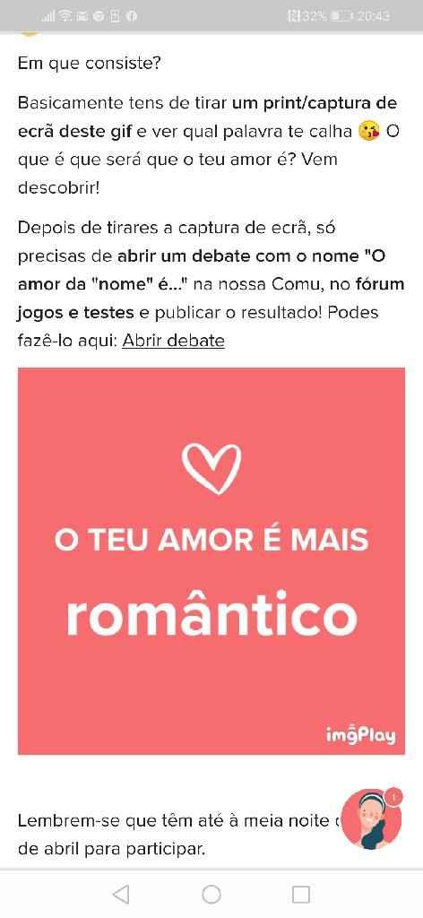 o amor é mais romântico - 1