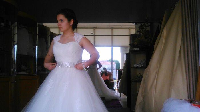 Onde compraram os vossos vestidos de noiva? - 5