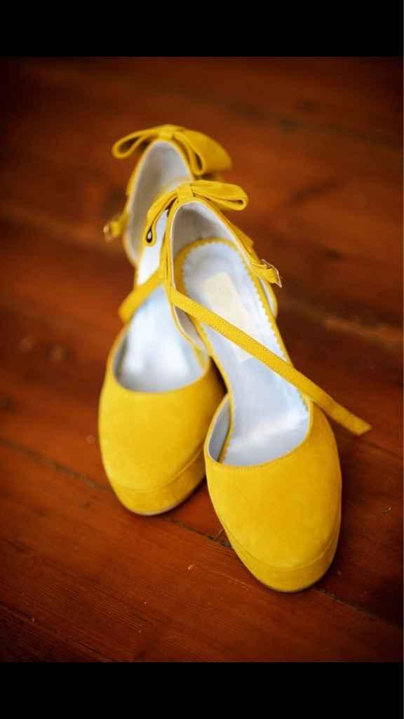 Sapatos amarelos - 1