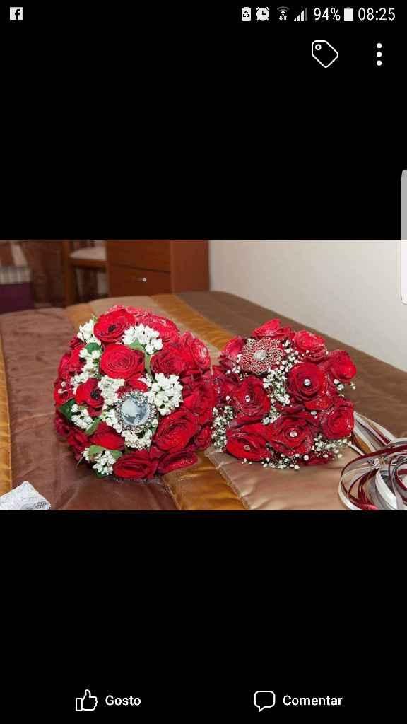 Ramos de noiva com joias - 1