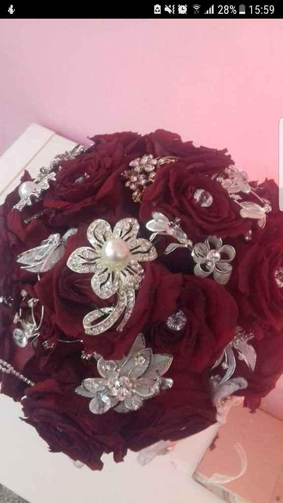 Ramos de noiva com joias - 2