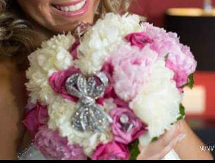 Ramos de noiva com joias - 3