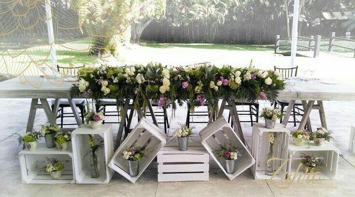 Mesa dos noivos inspirações - 3