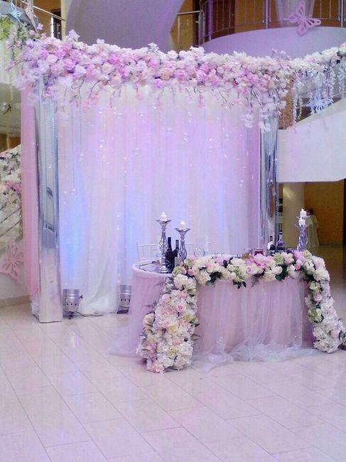 Mesa dos noivos inspirações - 5