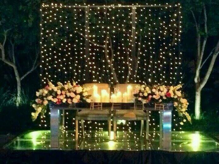 Mesa dos noivos inspirações - 7