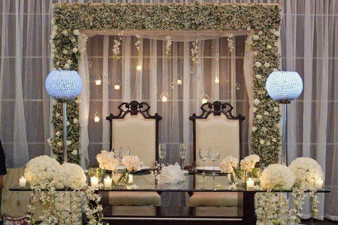 Mesa dos noivos inspirações - 9