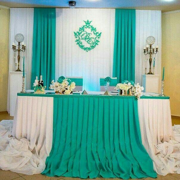 Mesa dos noivos inspirações - 10