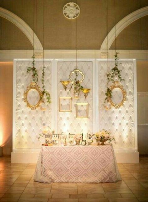 Mesa dos noivos inspirações - 11