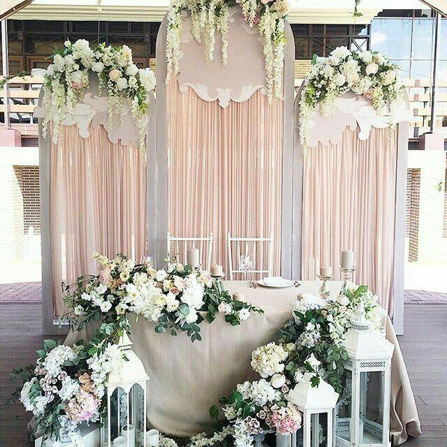 Mesa dos noivos inspirações - 13