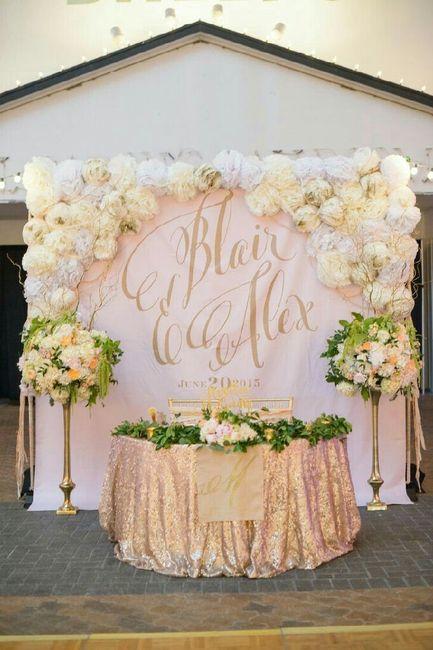 Mesa dos noivos inspirações - 14