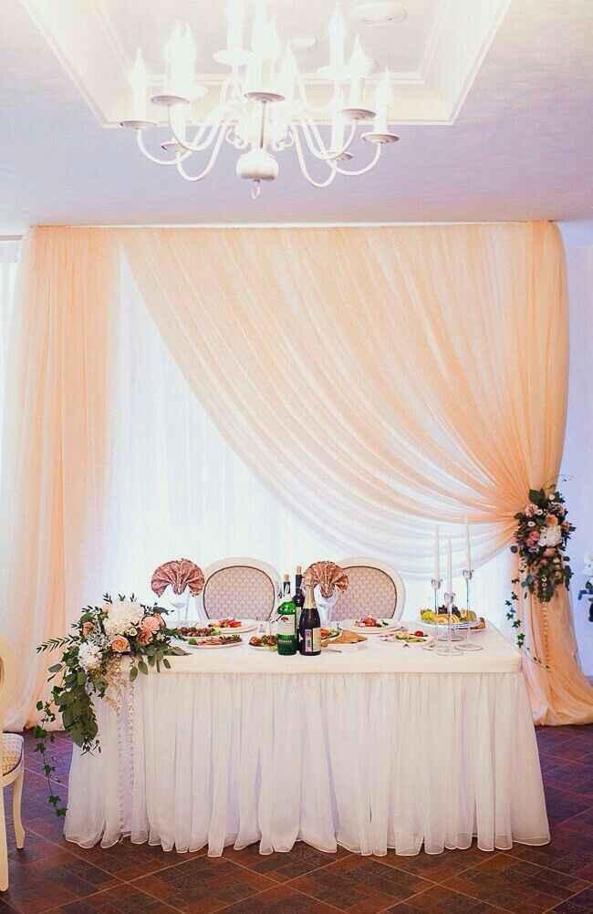 Mesa dos noivos inspirações - 8