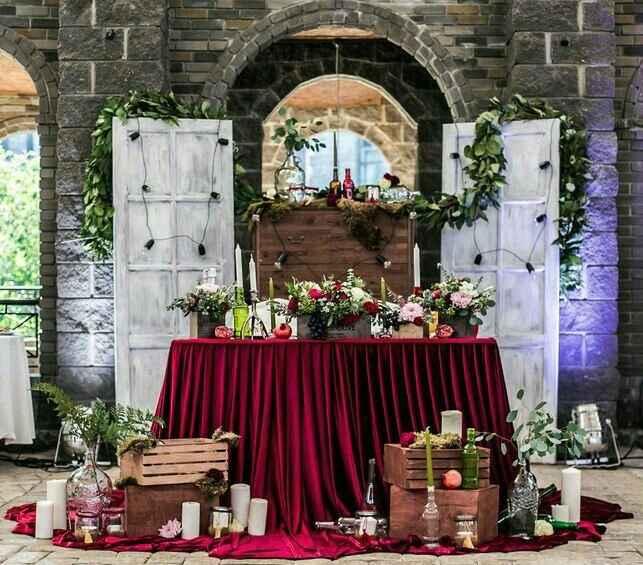 Mesa dos noivos inspirações - 12