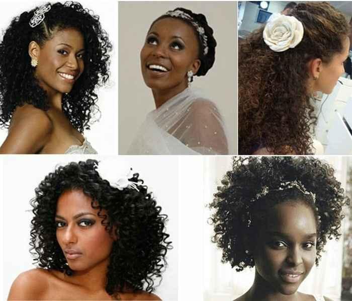 Noiva crespa a procura de penteado - 6
