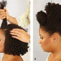 Noiva crespa a procura de penteado - 3